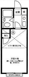 パレスラック[2階]の間取り