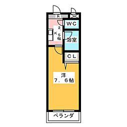 メゾン社台[4階]の間取り