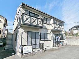 静岡県富士市石坂の賃貸アパートの外観