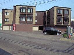 北海道札幌市西区宮の沢二条5丁目の賃貸アパートの外観