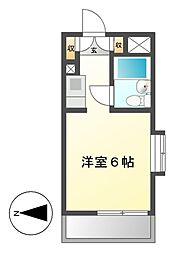 メゾン・ド・テルム[4階]の間取り