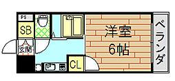 ビクトワール小阪[804号室]の間取り