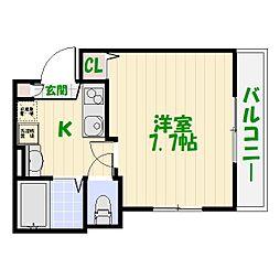 (仮称)亀有計画[0302号室]の間取り