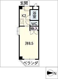 メゾンみゆき[1階]の間取り