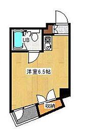 東京都板橋区大山町の賃貸マンションの間取り