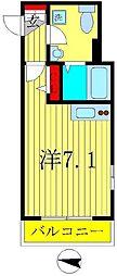 プレシャスアース新松戸[1階]の間取り