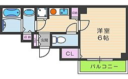 AISAII[5階]の間取り