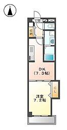 Arsa上飯田[2階]の間取り