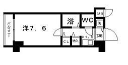 フロレスコ昭和町[5階]の間取り