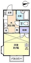 ダイワプラザ飯盛台[2階]の間取り
