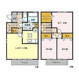 SP太田屋 II[101号室]の間取り