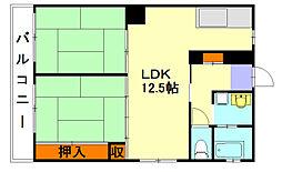 柳河内ビル[4階]の間取り