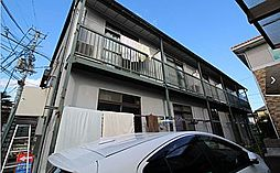 宮城県仙台市青葉区中江2丁目の賃貸アパートの外観