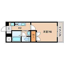 静岡県静岡市清水区今泉の賃貸アパートの間取り