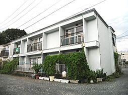 白石ハイツAB棟[2階]の外観
