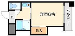 ディアーナTCT[4階]の間取り