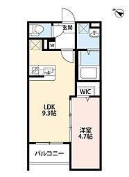 SEED尼崎[1階]の間取り
