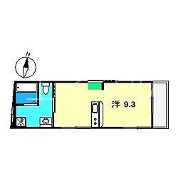 ラ・ポルト新屋敷[2階]の間取り