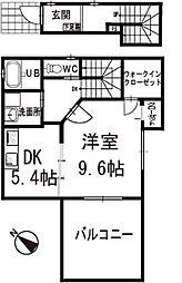 プリムローズ 2階[201号室]の間取り