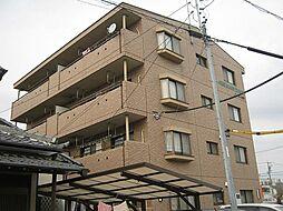 愛知県安城市箕輪町青木の賃貸マンションの外観