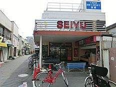 周辺環境:西友沼袋店