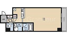 アスティオン都島[6階]の間取り