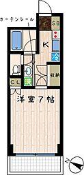 KAKUビル[402号室]の間取り