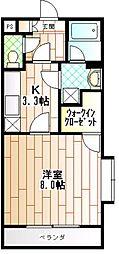 フェリシタージ[1階]の間取り