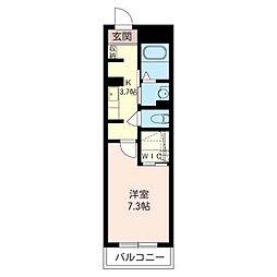 プランドール・シオン[2階]の間取り