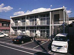 東京都江戸川区上篠崎4丁目の賃貸アパートの外観