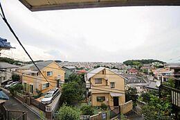 古屋2階からの眺望
