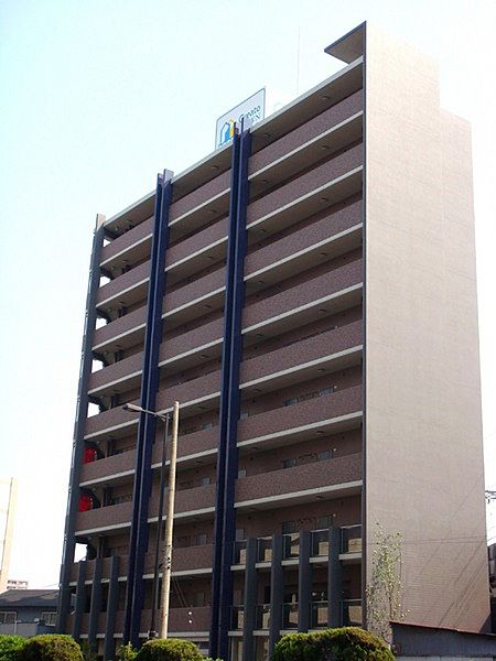クレアートクラウン天王寺[3階]の外観