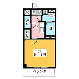 レジデンス M[2階]の間取り