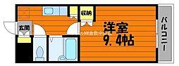 岡山県倉敷市玉島丁目なしの賃貸マンションの間取り