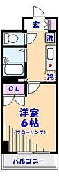 プライムアーバン行徳駅前II[110号室]の間取り