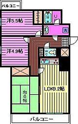 東川口ガーデンプラザ参番館[3階]の間取り
