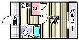ユウパレス取石[1-L号室]の間取り