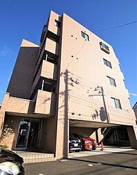 宮城県仙台市青葉区梅田町の賃貸マンションの外観