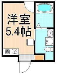 (仮称)アイ・ステージ千束新築工事[3階]の間取り