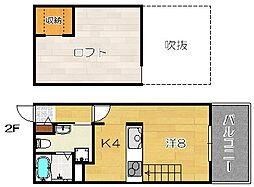 Full House Wakazono[202a号室]の間取り
