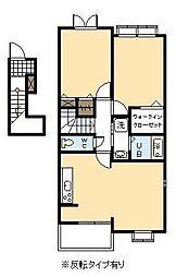 フェアリーズ II[201号室]の間取り