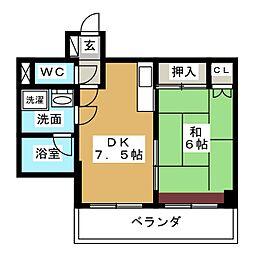 丸の内IHビル[6階]の間取り