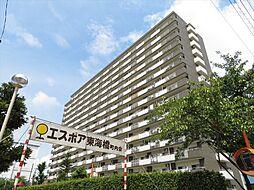 15階建てのマンションです。南向きのバルコニーなので日当たり良好です。名古屋市名港線「東海通」駅まで徒歩約14分。東海小学校まで徒歩約9分とお子様の通学も安心の立地。