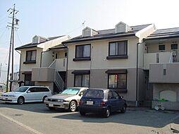 長野県長野市西和田1丁目の賃貸アパートの外観