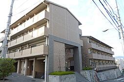 大阪府箕面市小野原東5丁目の賃貸マンションの外観
