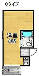 第二アイコーポ[2階]の間取り
