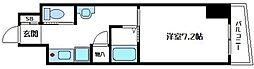 内淡路町新築マンション[2階]の間取り