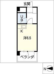 ShanPole NAMIKI[2階]の間取り