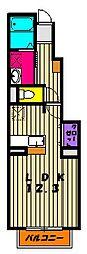 クローバー[1階]の間取り