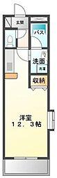 fiume.castello(ヒューメキャステッロ)[1階]の間取り